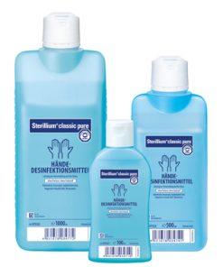 Sterillium® classic pure kéz fertőtlenítő